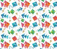 Tangram Kites and Puppies