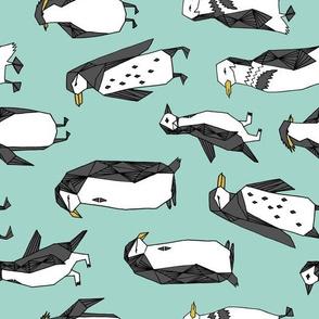 penguin fabric // penguins fabric andrea lauren design andrea lauren fabric