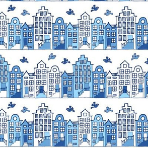 Dutch street blue and white (small)