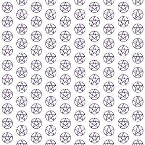 Purple Pentacles - Small