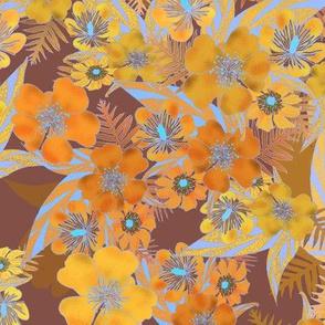 Silky Floral Autumn 300