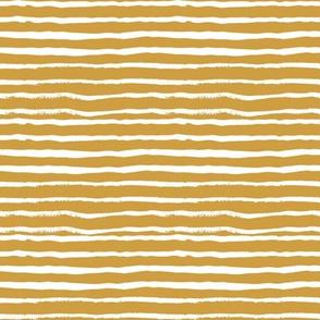 mustard stripes fabric