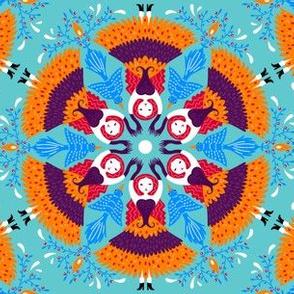 hexagonsblue