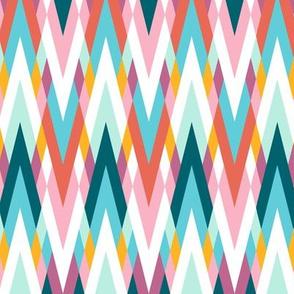 Zigzaggy waves 'summertime'