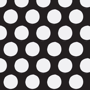 More Polk-a-dots (in black /white)