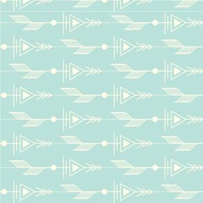 Mod Arrows Cool Aqua