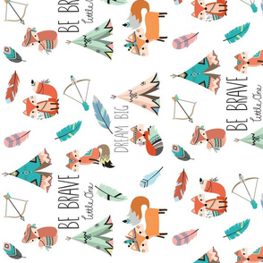 Be Brave Little Fox (rotated 90)