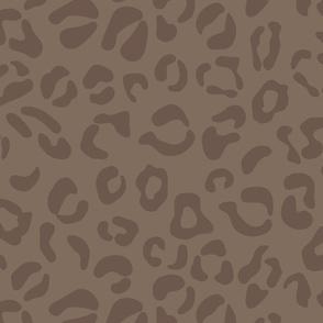 Leopard Spots in Chocolate Tones