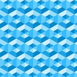 06267145 : hexagonal dimples : 00AAFF