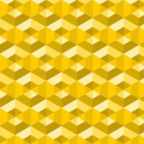 06267146 : hexagonal dimples : honey sandstone