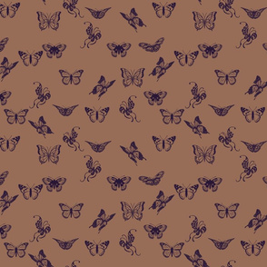 Long Live The Queen Butterflies