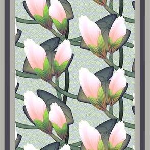 ©2011 Waterlily Shower Curtain
