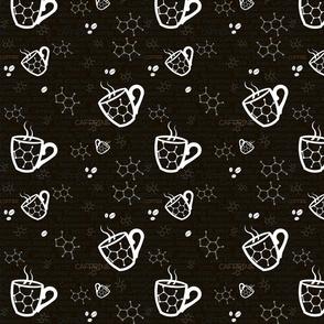 coffee CAFFEINE! molecule