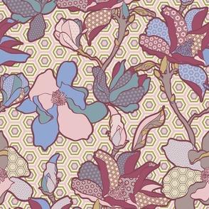 hexagons in full bloom