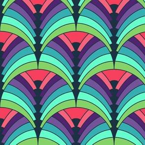 Art-Deco-Rainbow-Shells