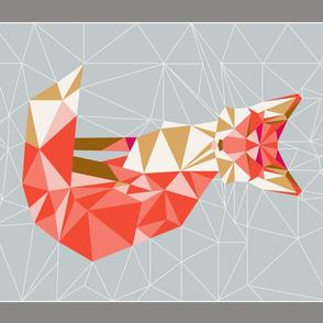 tea_towel_fox_geodesic_gris