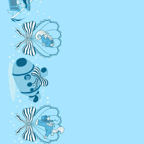 Lovely Horse Derpy Chan: Blue Tidepool