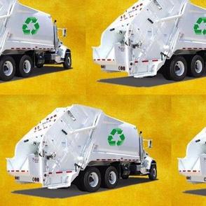 Golden Garbage Trucks