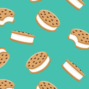 cookie sandwich ice-cream