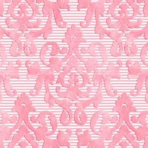 Lite-Pink Damask X-Small