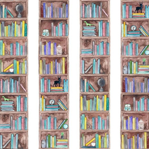 Book Lovers BookShelf Pattern