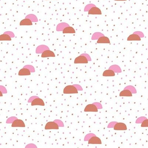 Miami beach summer series taco truck abstract food pattern pink