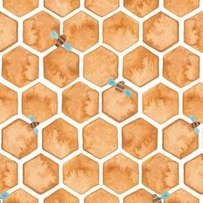 Honey Bee Hexagons.