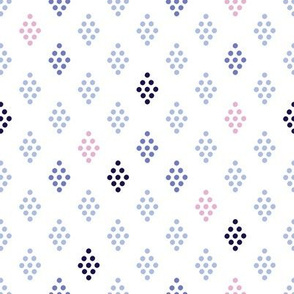 EYELETS | White and Pink