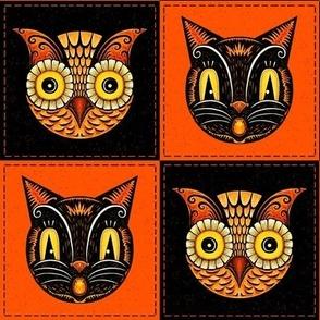 Halloween_Cat_Owl_checkerboard