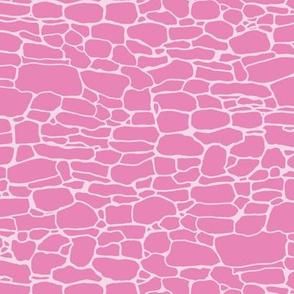 Stonewalls in pink