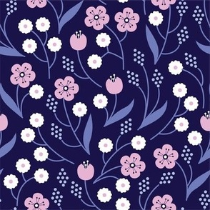 IN BLOOM | Navy