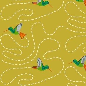 hummingbird chase [yarrow]
