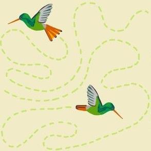 hummingbird chase [oat]