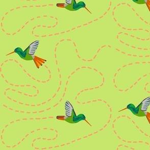 hummingbird chase [celery]