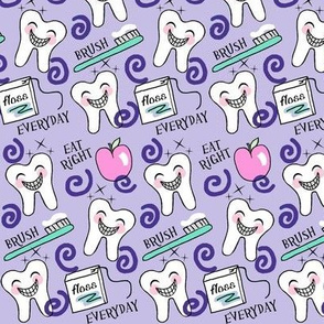 Brace Yourself for the Perfect Smile (dental design) kawaii Purple small med