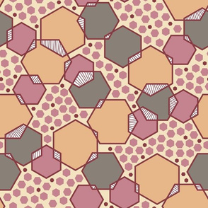 Intersecting Hexagons (Regal)