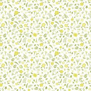 Floral Dreams 4 (Yellow)