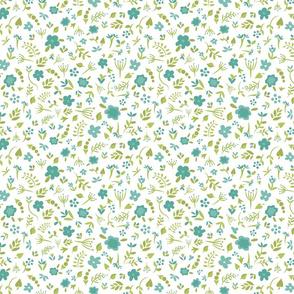 Floral Dreams 4 (Blue)