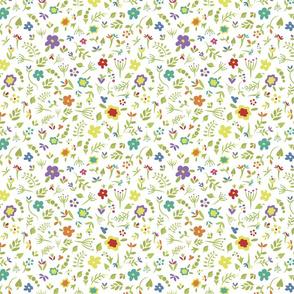 Floral Dreams 4 (Rainbow)