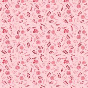Pink on Pink Floral