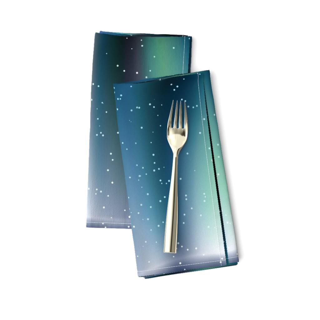 Amarela Dinner Napkins featuring Aurora by animotaxis