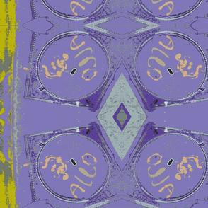 Mad Max's Shield-purple