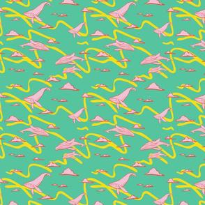 Whales: Turqoise