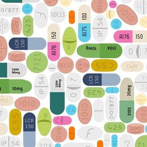 SSRI on white