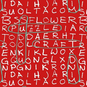 Red Word Search