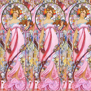 Alfons Mucha 1899 Moët & Chandon White Star