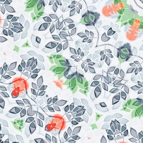 Ethnic round ornament seamless pattern