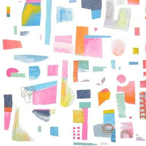 Abstract Painted Shapes