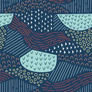 Lines Meet Curves - Dark