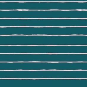 teal/pink stripe